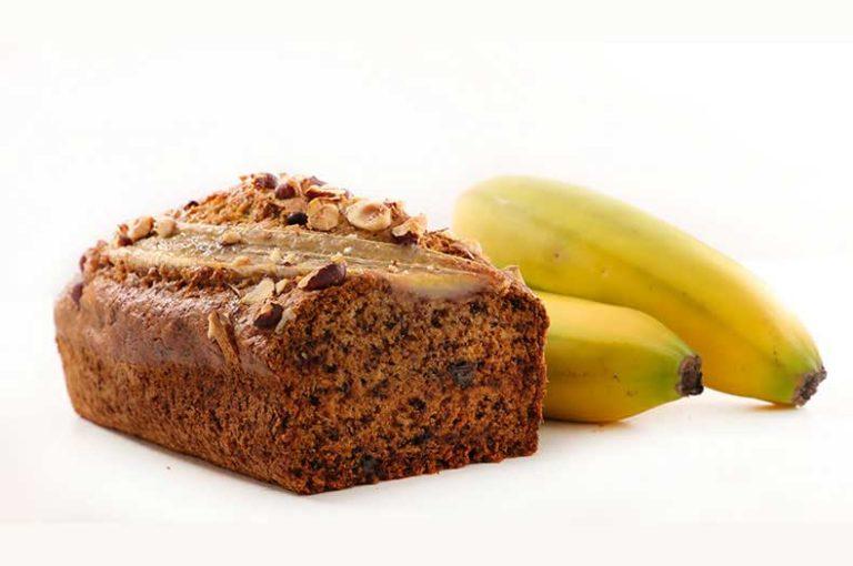Υγιεινό κέικ μπανάνας για μικρούς και μεγάλους